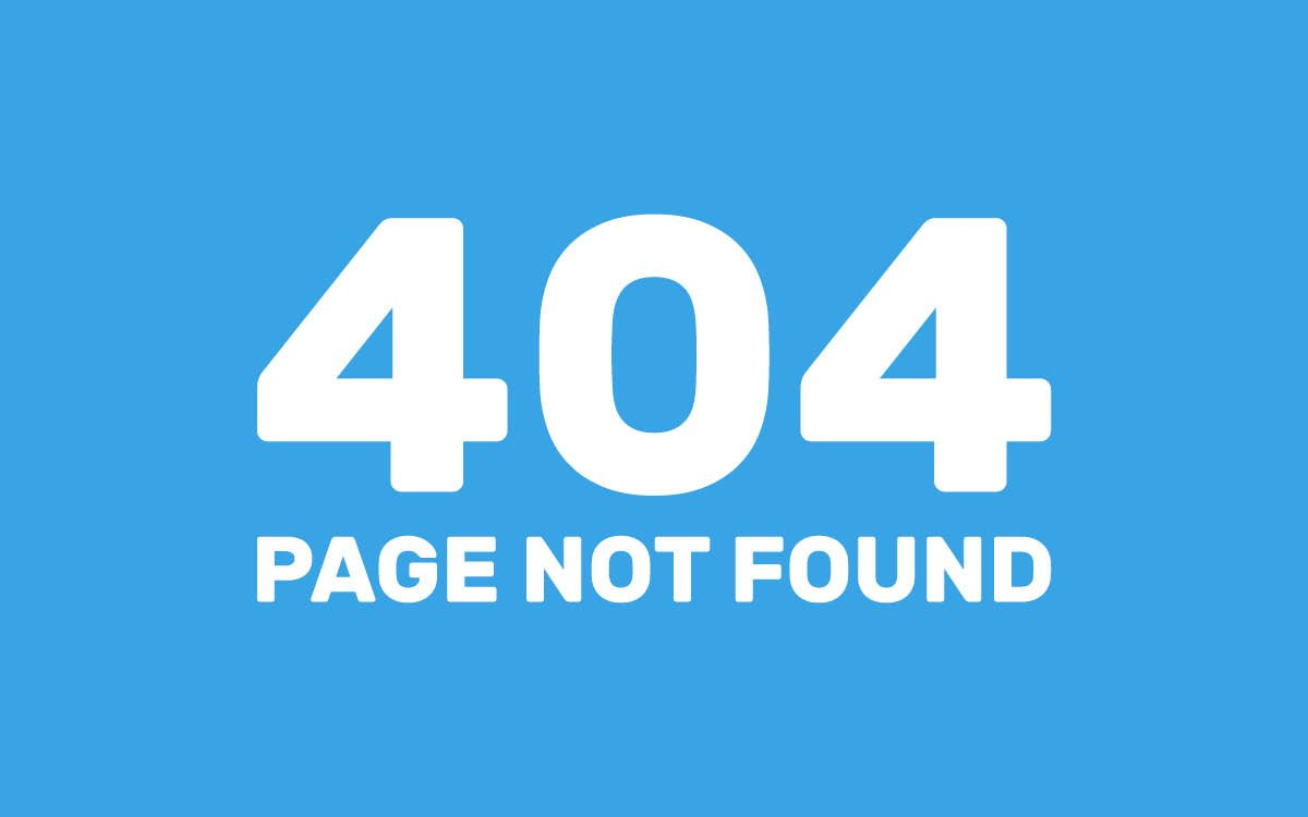 Optimize the Dreaded 404 Page