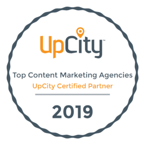 UpCity Top Content Marketing Agency Certified Partner