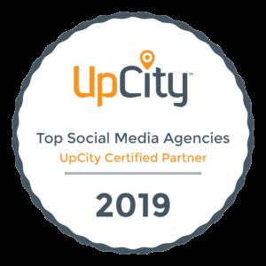 UpCity Top Social Media Agency Certified Partner